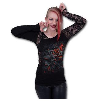 t-shirt donna - BURNT ROSE - SPIRAL, SPIRAL