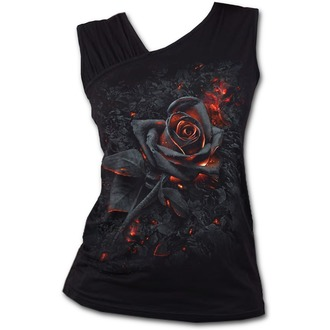 top donna SPIRAL - BURNT ROSE - Nero, SPIRAL