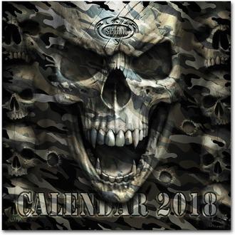 Calendario SPIRAL 2018 - DARK ARTS, SPIRAL