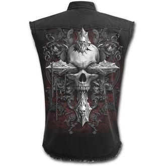 Camicia senza maniche Uomo SPIRAL - CROSS OF DARKNESS - Nero, SPIRAL