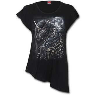 t-shirt donna - DARK UNICORN - SPIRAL, SPIRAL