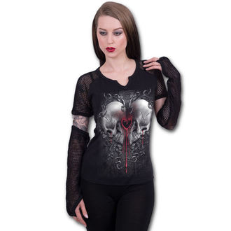 t-shirt donna - LOVE AND DEATH - SPIRAL, SPIRAL