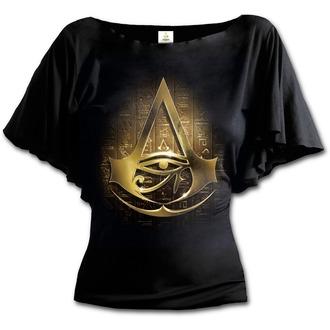 t-shirt film donna Assassin's Creed - ORIGINS LOGO - SPIRAL, SPIRAL