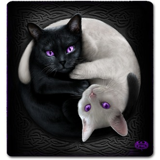Coperta SPIRAL - YIN YANG CATS, SPIRAL