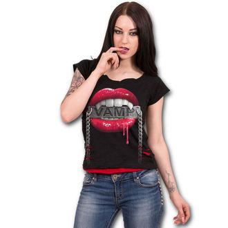 t-shirt donna - FANGS - SPIRAL, SPIRAL