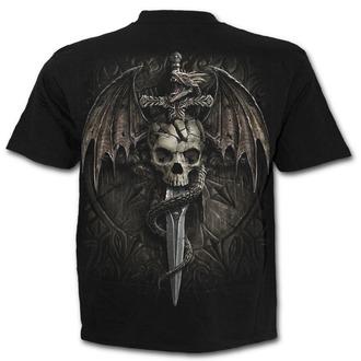 t-shirt uomo - DRACO SKULL - SPIRAL, SPIRAL