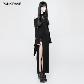 vestito PUNK RAVE - Lunaria long Gothic, PUNK RAVE