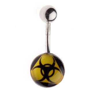 piercing ciondolo Biohazard - 1PCS - L 102