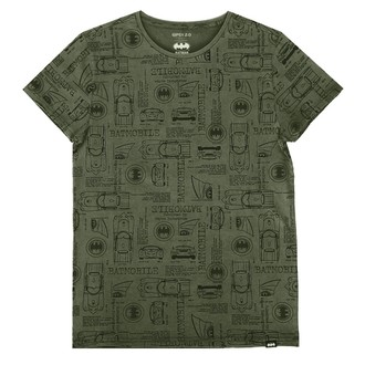 t-shirt film uomo Batman - OLIVE -