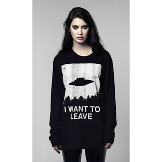 t-shirt hardcore unisex - I WANT TO LEAVE - DISTURBIA, DISTURBIA