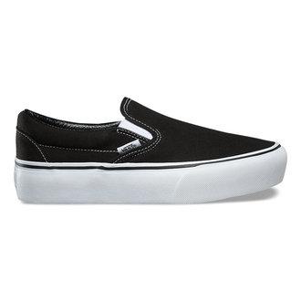 scarpe VANS - UA CLASSIC SLIP-ON PLATFORM Black, VANS