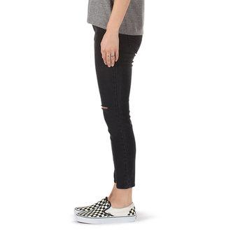 pantaloni (jeans) VANS - DESTRUCTED SKINNY - Fumo, VANS