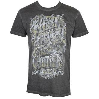 t-shirt uomo - CUSTOM LOGO - West Coast Choppers, West Coast Choppers