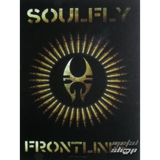 bandiera Soulfly - Frontlines, HEART ROCK, Soulfly