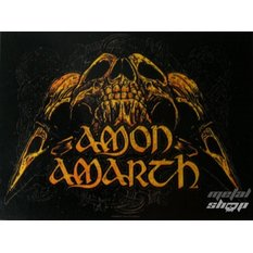 bandiera Amon Amarth - Skulls, HEART ROCK, Amon Amarth