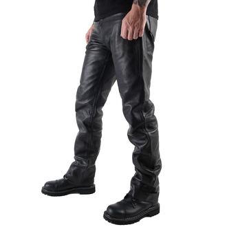 pantaloni uomo pelle OSX - Balestruccio - Nero, OSX