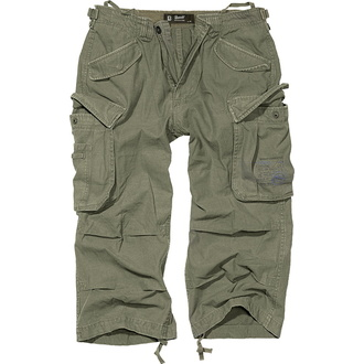 pantaloncini 3/4 uomo BRANDIT - Industria Vintage Oliv - 2003/1