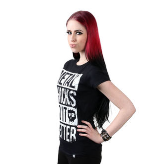 t-shirt hardcore donna - Metal chicks - METAL CHICKS DO IT BETTER, METAL CHICKS DO IT BETTER
