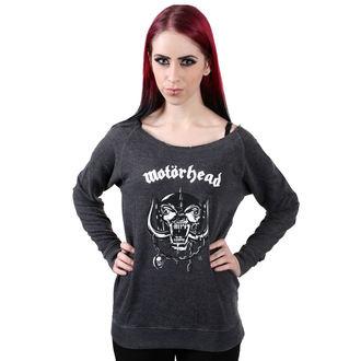 felpa senza cappuccio donna Motörhead - Logo Burnout Open Edge - NNM, NNM, Motörhead