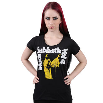 t-shirt metal donna Black Sabbath - BLACK - AMPLIFIED, AMPLIFIED, Black Sabbath