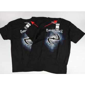 t-shirt metal uomo Evanescence - Classic Logo - ROCK OFF, ROCK OFF, Evanescence