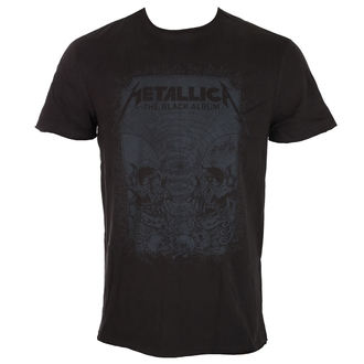 t-shirt metal uomo Metallica - THE BLACK ALBUM - AMPLIFIED, AMPLIFIED, Metallica
