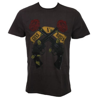 t-shirt metal uomo Guns N' Roses - SHOOTING ROSES - AMPLIFIED, AMPLIFIED, Guns N' Roses