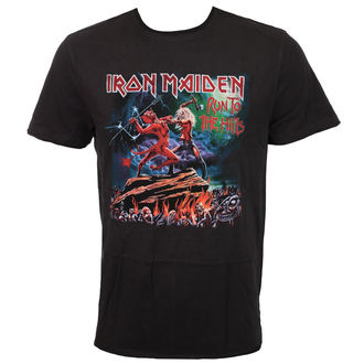 t-shirt metal uomo Iron Maiden - RUN TO THE HILLS - AMPLIFIED, AMPLIFIED, Iron Maiden