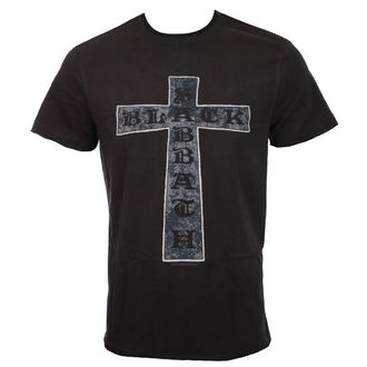t-shirt metal uomo Black Sabbath - CROSS - AMPLIFIED, AMPLIFIED, Black Sabbath