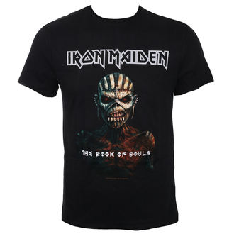 t-shirt metal uomo Iron Maiden - THE BOOK OF SOULS BK - AMPLIFIED, AMPLIFIED, Iron Maiden