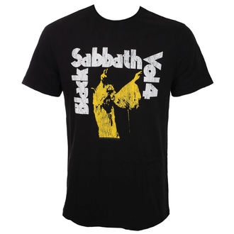 Maglietta Uomo BLACK Il SABBATH - BLACK - AMPLIFIED, AMPLIFIED, Black Sabbath