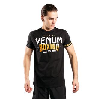 Maglietta da uomo Venum - BOXING Classic 20 - Nero / Oro, VENUM