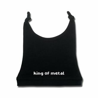 Cappello da bambini King of Metal - nero - bianco - Metal-Kids, Metal-Kids