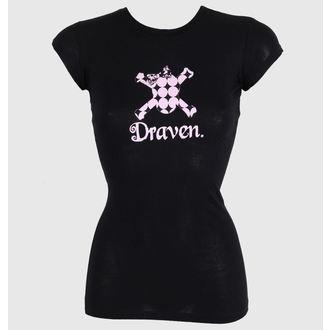 t-shirt street donna - Polkaskull - DRAVEN, DRAVEN