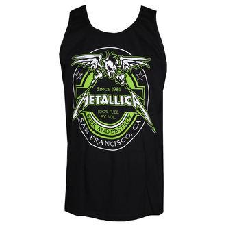 Canotta Metallica - 100% Fuel - Nero, NNM, Metallica