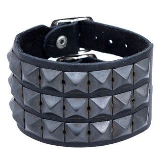 bracciale Pyramidy 3, BLACK & METAL