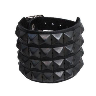 bracciale Pyramidy 4, BLACK & METAL