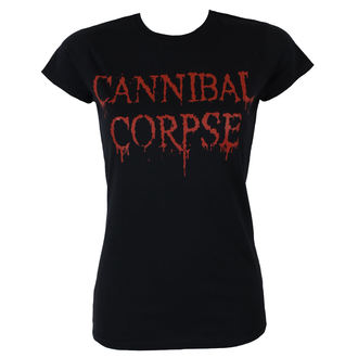 t-shirt metal donna Cannibal Corpse - DRIPPING LOGO - PLASTIC HEAD, PLASTIC HEAD, Cannibal Corpse