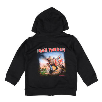 felpa con capuccio uomo Iron Maiden - Trooper - Metal-Kids, Metal-Kids, Iron Maiden