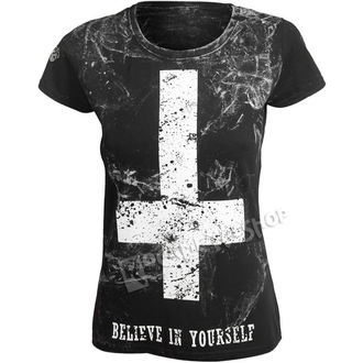 t-shirt hardcore donna - BELIEVE IN YOURSELF - AMENOMEN, AMENOMEN