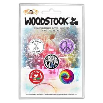 Distintivi WOODSTOCK - SURROUND YOURSELF WITH LOVE - RAZAMATAZ, RAZAMATAZ