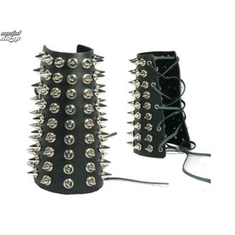 bracciale Borchie 9, BLACK & METAL