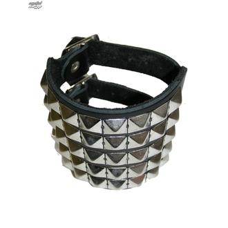 bracciale Pyramidy 5, BLACK & METAL