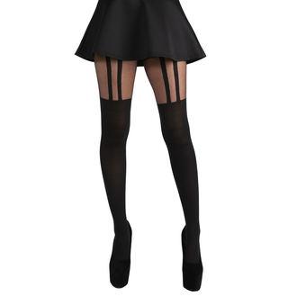 Collant PAMELA MANN - 2 Stripe Suspender - Nero