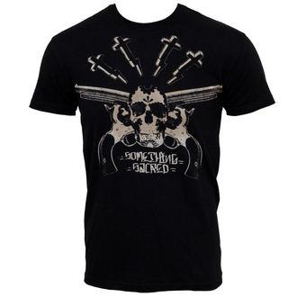 t-shirt street uomo - Slinger Crew-Neck - SOMETHING SACRED, SOMETHING SACRED