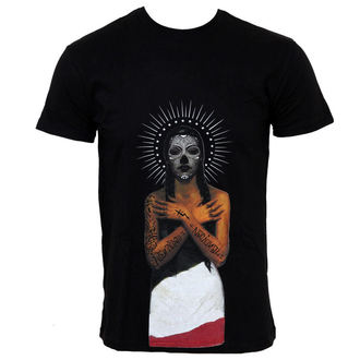 t-shirt street uomo - Black Heart Queen - SOMETHING SACRED, SOMETHING SACRED