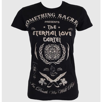 t-shirt street donna - Deathless Love - SOMETHING SACRED, SOMETHING SACRED