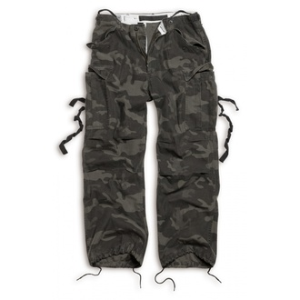pantaloni SURPLUS - Vintage - BLACK CAMO, SURPLUS