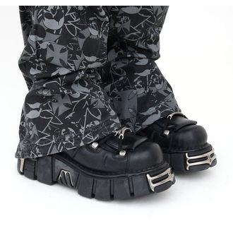 stivali in pelle - String Shoes (106-S1) Black - NEW ROCK, NEW ROCK