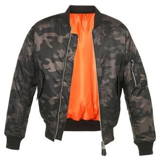 giacca invernale - MA1 camo - BRANDIT - 3159-darkcamo